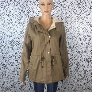 Collection B tan winter jacket